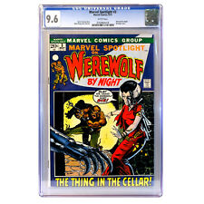 Marvel Spotlight #3 🔥 2nd appearance WEREWOLF BY NIGHT 🔥 CGC 9.6 - WHITE Pages