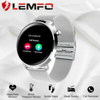 LEMFO IP68 Wasserdicht Smartwatch Pulsuhr Blutdruck Armbanduhr Fitness Tracker