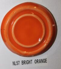 Nl 57 Bright Orange Gloss Glaze Cone 06/04, Pound Lot Of 1