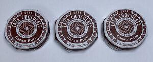 Lot of 3 Dark Taza Chocolate Cacao Puro 2.7oz Mexican-Style Stone Ground 70%