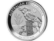 1 $Dólar Plata KOOKABURRA AUSTRALIA Privy F15 Fabulous 1oz Plata 2016