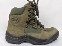 Vasque Clarion GTX 7491 Green Suede Leather & Gore-Tex Women's Hiking Boots 7
