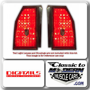 DIGI-TAILS LED Taillight Light Conversion Fits Monte Carlo 81-86 Base / 83-86 SS