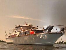 Wunderschönes Holzboot (Eiche/Mahagoni) mit Motor für Bootsliebhaber