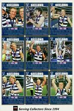 2008 AFL Teamcoach Trading Card Prize Card Team Set Geelong (12)