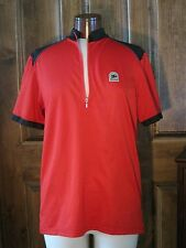 Sugoi Men's Cycling Jersey Red Great Condition! Biking