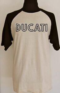 DUCATI classic D retro vintage t-shirt