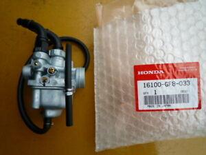 NEW HONDA QR50 Carburettor Genuine 16100-GF8-033