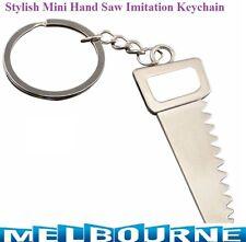 1x Mini Tool Rip Saw Keyring Keychain Hand Panel Hacksaw Carpenter Tradesman #SB