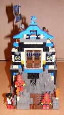 1999 LEGO Ninja's Fire Fortress 3052 COMPLETE with Instructions