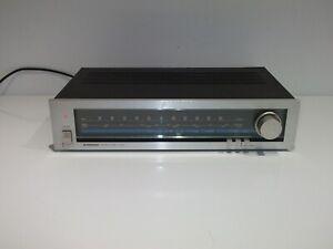 Vintage PIONEER TX- 520L AM/FM Stereo Tuner Hi-Fi Separate - Silver - Japan