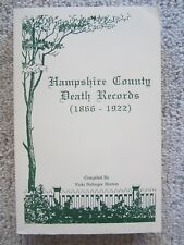 Hampshire County Death Records (1866-1922)