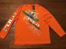 Polo Ralph Lauren Alpine 92 T-Shirt Terrain Snow Beach Sportsman P-wing Size S!