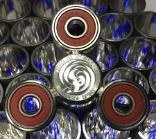 Tucka-Spins Fidget Spinner Stainless Steel Made In USA  NEW Rare With Alum. Cap
