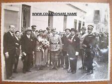 FOTOGRAFIA 2° GUERRA MONDIALE 2° PHOTO WORLD WAR COMANDO TEDESCO IN ITALIA  (G3)