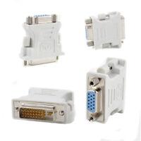 DVI 24+1 DVI-D Male to 15 Pin VGA Female Video Adapter Converter for PC Laptop