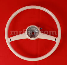 Mercedes 300 SL Gullwing Ivory Steering Wheel Complete 380 mm New