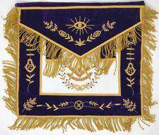New Freemason Masonic Purple Past Master Apron