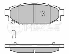 025 242 7114/W MEYLE Brake pad set fit WVA