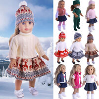 "For 18"" American Girl Our Generation My Life Dolls Clothes Dress Pajamas Shoes"