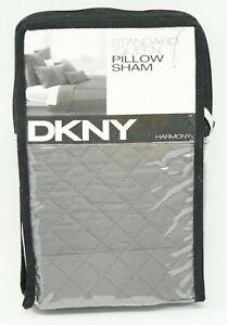 DKNY Pillow Sham Harmony - STANDARD / QUEEN - Platinum