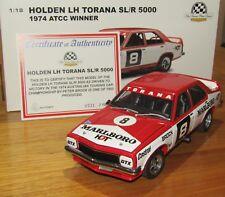 1:18 AUTOART HOLDEN LH TORANA SL/R 5000 PETER BROCK 1974 ATCC WINNER WITH DECALS