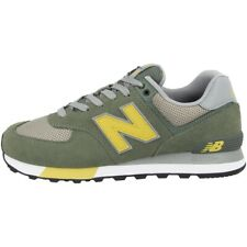 New Balance ML 574 Fne Chaussures Loisirs Sneaker Rétro Ardoise Vert Terre