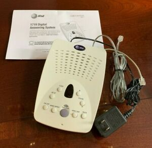 AT&T 1719 Digital Answering Machine/Answering System USED AND WORKING