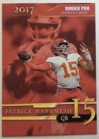 Patrick Mahomes Red Rookie Card