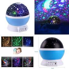 Calming Autism Sensory LED Lights Rotating Cosmo-star Night Light Sky Projector