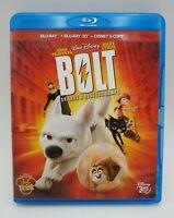 BRD DVD Bolt Un eroe a quattro zampe Bluray 3D John Travolta Miley Cirus Cinema