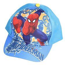 Official Summer Baseball Cap Hat - Size 52 - Marvel Spiderman - Light Blue