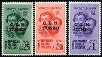 Emissioni Locali 1945 C.L.N. Cuneo ** (m1371)