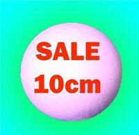 10cm 100mm Solid Polystyrene Styrofoam Balls FAST POST Craft sweet trees spheres