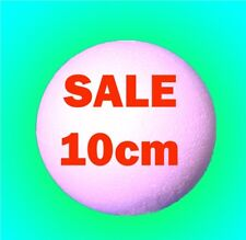 10cm 100mm Solid Polystyrene Styrofoam Balls FAST POST Craft sweet trees spheres