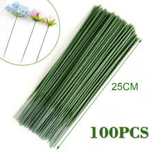 100Pcs Plastic Rod Wire Artificial Flower Plant Stub Stems Craft DIY Decoration