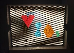 Vintage 1986 Milton Bradley Lite Brite With Box And Tested