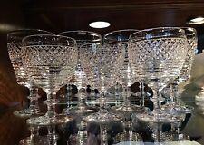 Edinburgh Scotland Crystal Cut Glasses (7) E & L  Edinburgh & Leith