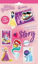Disney Princess 700 Assorted Stickers Party Bag Filler Favour Scrap Book Gift