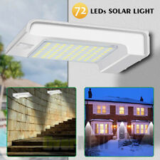 New listing Cinoton Porch & Patio Lights 72 Led Gutter Solar Light Outdoor Security Motion
