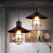Stylehome 40w Lámpara Colgante Retro PANTALLA DE CRISTAL VINTAGE industria