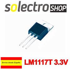 2x LM1117T 3.3V 0.8A Regulador tensión LDO DC TO-220 LM1117 Texas Arduino T0012