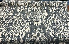 Mill Creek Moldavia Slate Chenille Upholstery Fabric by the yard