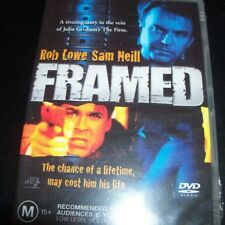 Framed (Robe Lowe Sam Neill (Australia Region 4) DVD - New
