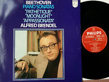 PHILIPS 9500 899 STEREO BEETHOVEN PIANO SONATAS BRENDEL NM