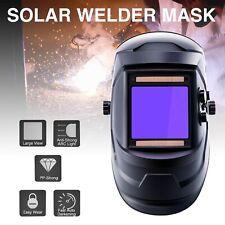 Welding Mask True Color Auto-darkening Solar Powered MIG TIG Lithium Battery