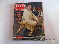 TELE MAGAZINE N°306 03/09/1961 LEON ZITRONE PENCHENIER     I69