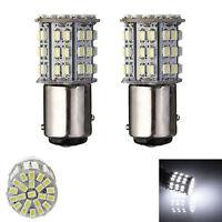 2 X 1157 BAY15D 64 SMD LED Car Brake Tail Stop Light Bulb White 1154 2057 Sales