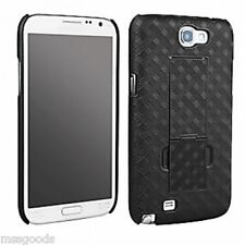 Samsung Galaxy Note 2 Shell Case w/Kick-Stand(No Holster)