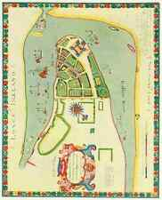 A4 livre photo de New York 1922 long island 1664 imprimé Poster